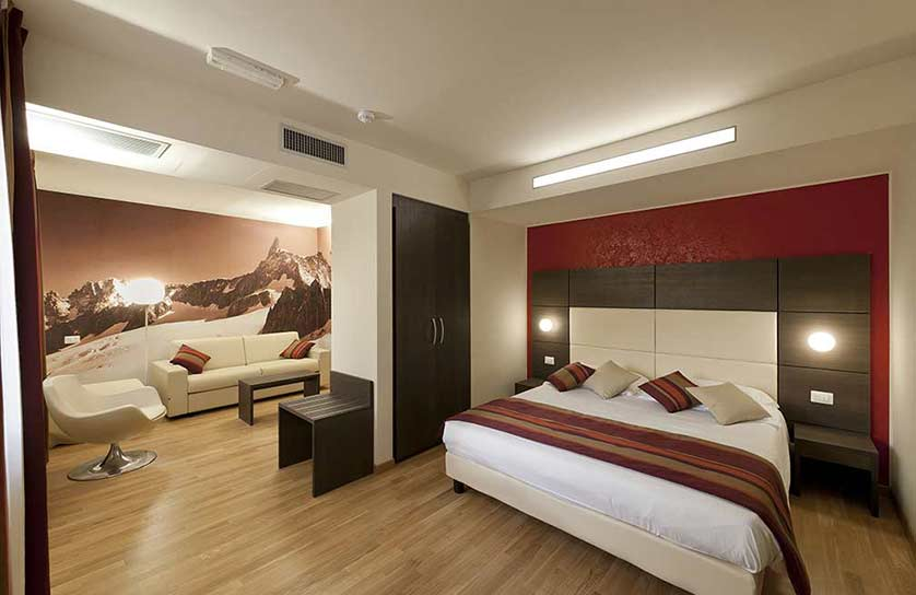 aosta Junior suite hotel