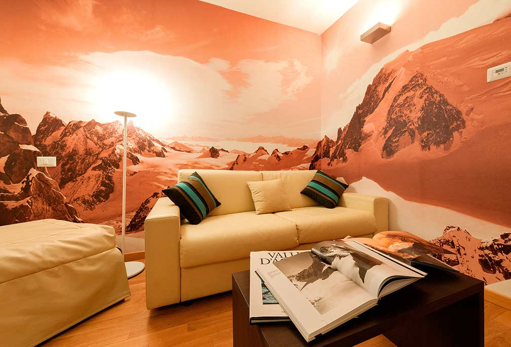 junior suite hotel aosta