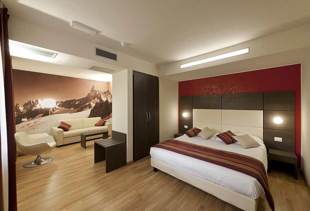 junior suite hotel aosta