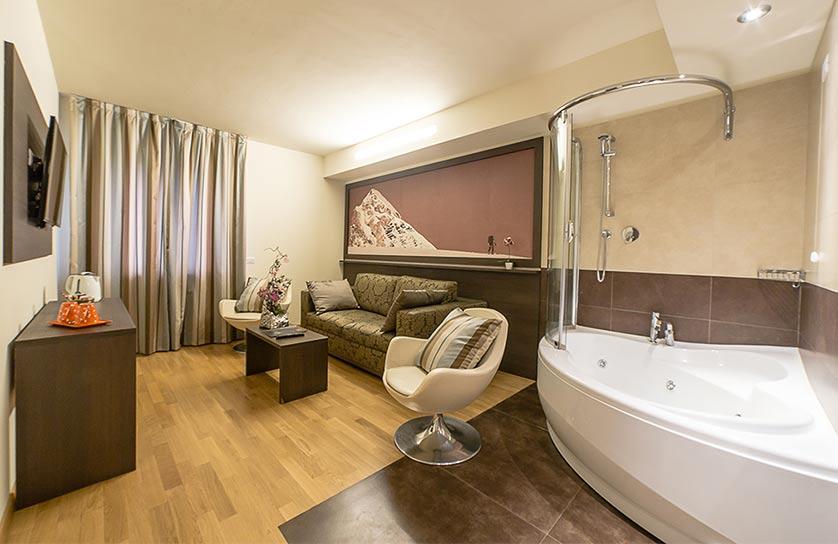 suite aosta hotel